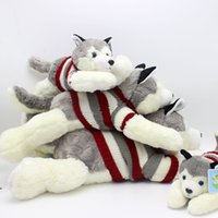 Wholesale Mouse Children Sweater - Cute sweater models Husky plush toys dolls clothing husky plush pants Valentine's Day gifts to send girlfriend children gifts wholesale