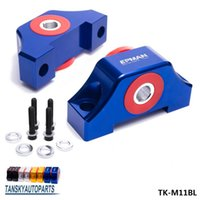 Wholesale D16 Honda - TANSKY - For Honda Civic EG EK JDM Engine Billet Motor Torque Mount Kit B16 B18 B20 D16 D15 TK-M11RD