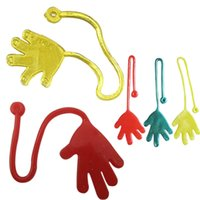 Sticky Hands Kids Party Favors Supplies Premio de Carnaval Surtido de colores Pinata Fillers Kids Funny Kid Toys