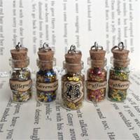 inspirer des pendentifs achat en gros de-12pcs / lot Pendentif Poudlard Maisons Pendentif Collier inspiré par HP