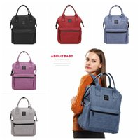Diaper Mommy Bags Nappies Sacs à dos de maternité Sacs à main Mère Mode Sac à dos Outdoor Nursing Travel Bags Organiseur 5 couleurs OOA2506
