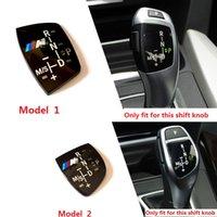 Wholesale Bmw Knob - Styling M Performance Shift Knob Panel Sticker Badge Black For BMW X1 X3 X5 X6 M5 F10 F30 F35 3 5 7 Series