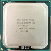 Wholesale Lga 775 Core Duo - Free Shipping Desktop For Intel Core 2 Duo E8400 CPU Processor ( 3.0Ghz   6M   1333GHz ) Socket 775