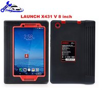 Wholesale Hyundai Tablet Inch - Original Launch X431 V 8 inch Tablet Wifi Bluetooth Full System Diagnostic Tool car scanner with 2 years Update Online No need Activate