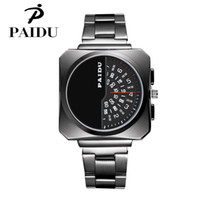 Wholesale Paidu Brand - 2017 Man's Fashion Dress Paidu Watch Alloy Brand Round Quartz Watch free shipping and good quality