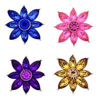auger takı toptan satış-Yeni Takı Bulguları Noosa / parçaları düğmeleri Karışık renk seti burgu Hollandalı çiçek toka DIY Takı düğmeleri C027