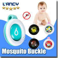 Wholesale Mosquito Incense - New Children Adult Anti-Mosquito Buckle Summer outdoor Mosquito Repellent Clip Waterproof Fragrance Incense Repellent Guard Mosquito