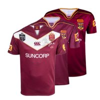 Wholesale HOT Commemorative Edition Johnathan THURSTON jersey Australia Queensland QLD Maroons Malou Rugby jerseys Shirts s XL