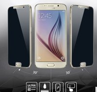 Wholesale New Arrival Free Shipping S4 - 2017 New Arrival Peep-proof Screen Protector Film 9H Tempered Glass For Samsung S8 S7 S6 S5 S4 Note 5 4 3 2 Free Shipping