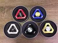 Wholesale Wholesale Black Kong Toys - High quality King Kong Fidget Spinner Noctilucent EDC Toy Luminous Tri Spinner Fidget Toys Hand Spinners Metal Alloy Glow in the Dark WD268