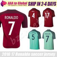 Soccer cristiano ronaldo soccer jerseys - Portogallo Jersey Camisetas de  Futbol Portogallo RONALDO FIGO NANI Football 92bf2fa1962af