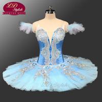 Adult Classical Ballet Tutu Blue LD0071 Pancake Platter Tutu Costume Performance Competition Professional Tutus Ballerina Tutu
