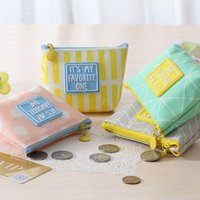 Wholesale Small Cloth Purses - Wholesale- 1 pcs lovely Small fresh simple Waterproof cloth zero wallet childen girl boy purse, lady coin bags wallets Pouch Case