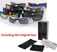 Wholesale Wind Pilot - Hot SALE Brand Sunglasses men women Popular Wind Cycling Mirror Sport Outdoor Eyewear Goggles Sun glasses 36968 sunglass with Original box