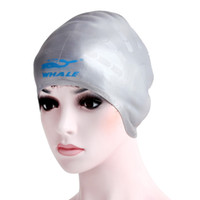 Wholesale Guard Swim - Wholesale- silicone swimming cap swimming hat with Ear guard for long hair ,adult