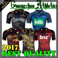 Wholesale Best Stock Shorts - have stock 2016 2017 New Zealand Rugby Blues JerseyS Chiefs crusader best quality shirt Rugby Sydney rooster Shirt hurricane Highlande S-3XL