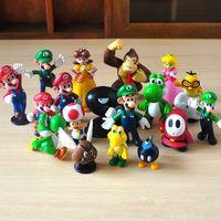 mario bros figuras venda por atacado-Mini Figuras Bonitos 3.5 cm-6 cm 1