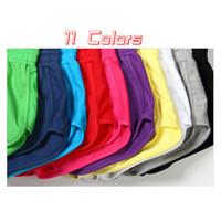 Wholesale Ladies Candy Color Pants - Brand Fashion Women Shorts Elastic Waist Lady Soft Cotton Shorts Causal Shorts Feminino Candy Color Summer Short Pants