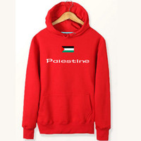 толстовки команд оптовых-Флаг Палестины толстовки Палестинской национальной команды пот рубашки хлопок флис одежда пуловер пальто открытый спортивная куртка матовый кофты
