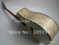 Wholesale Zebra Strings - Wholesale- natural zebra acoustic guitar with free string
