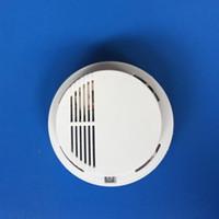 ingrosso sistema di allarme di sicurezza 433mhz-Buon buon sensore di fumo senza fili 433MHZ 315MHZ, rilevatore di fumo, sensore di allarme antincendio per sistemi di allarme di sicurezza domestica