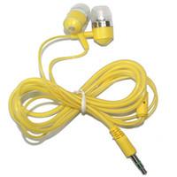 kopfhöreranschluss handy headset großhandel-Heißer Verkauf 3.5MM Jack In Ear Kopfhörer mit Mic Super Bass Musik Kopfhörer für Smart Phone Handy / Samsung / MP3 / MP4 Noise Cancelling Headset