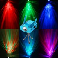 Party Lights 7 color Strobe StageOcean Wave Proyector Halloween Christmas Rgb Led Par Light Lighting con control remoto para DJ Bar Karaoke Xmas Wed