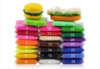 el kili toptan satış-Kabarık Floam Balçık Pamuk Çamur Oyuncaklar El Macun oyun Kil Katı Renk Stres Giderici Hiçbir Koku toksik Olmayan Çocuklar Oyuncak Çamur Oyuncak