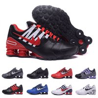Wholesale Newest Designer Sneakers - 2017 Newest men shoes shox avenue 803 crystal casual women air turbo designer sneakers black white running walk red bottoms trainer 36-44