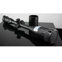 Free Shiping 6-24X50 Riflescope Einstellbare Grün Red Dot Jagd Licht Taktischen Bereich Reticle Optical Sight Scope mit 20mm / 11mm