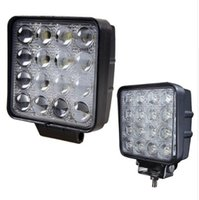 2pcs 48W 4,5 polegadas LED Work Light Flood Driving Lamp para caminhão de carro Trailer SUV Offroads Boat 12V 24V 4WD