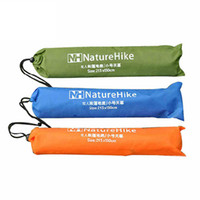 Wholesale Inflatable Canopy - Wholesale- Outdoor Camping Mat Oxford Material 2.1X2.15M Climing Hiking Picnic Tent Canopy Beach Sun Shade Free Shipping