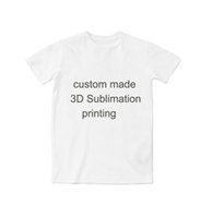 Wholesale Create Shirt - Real USA size Custom - Create your own - 3D Sublimation print Shirt Plus size