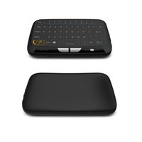 H18 Mini clavier sans fil Full Touchpad 2.4G Fly Air Mouse Télécommande universelle pour Windows MXQ PRO 4K Android TV Box MAG250 IPTV