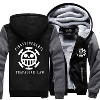 Wholesale One Piece Thick - Wholesale- New fashion Winter Warm one piece Hoodie men Anime Luminous Hooded Coat Thicken Zipper man fleece brand funny Jacket Sweatshirt