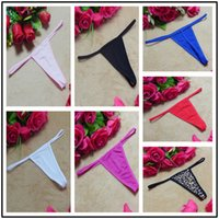 Wholesale Girl Invisible G String - Thong Knickers 2017 Hot Sexy g-String Underwear Panties Sexy Women Transparent Lingerie Ladies g-String Briefs Girl Free Shipping