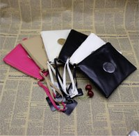 Wholesale Zipper Wallet Shopping Bag - Brand Mimco Wallet Women PU Leather Purse Wallet Large Capacity Makeup Cosmetic Bags Ladies Classic Evening Bags Shopping Handbags Free DHL