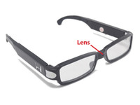 Wholesale Wholesale Pinhole Glass - HD 1280*960 Glasses Camera Spy Eyeglasses mini camcorder Eyewear Security Camera DVR Hidden pinhole Camera Support up to 32GB in retail box