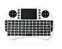 мульти-тв-бокс оптовых-ПК беспроводная клавиатура i8 клавиатуры Fly Air Mouse мультимедийный пульт дистанционного управления тачпад портативный для TV BOX Android