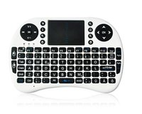 Wholesale Remote Control Pc Media - PC Wireless Keyboard i8 keyboards Fly Air Mouse Multi-Media Remote Control Touchpad Handheld for TV BOX Android