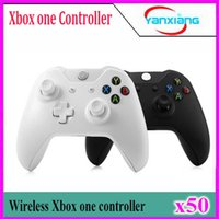 Wholesale Official Microsoft Controller - 50pcs For Xbox One Wireless Controller For XBOX One Controle Joystick For Official Microsoft XBOXONE Game Controller Gamepad YX-one-01