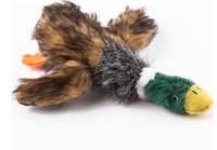 freie karikaturklänge großhandel-21 cm Hund Kauen Spielzeug Haustier Squeaker Squeaky Plüsch Cartoon Sound Schwein Ente Ball Heimtierbedarf Freies Shiping