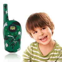 Wholesale Intercom Electronic - 2016 2Pcs Walkie Talkie Children Kids Electronic Toys Portable Two-Way Radio Set Hot Selling walkie talkie juguete