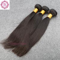 лучшие человеческие волосы бразильские монгольские оптовых-Бразильские выдвижения человеческих волос малайзийский перуанский монгольский камбоджийский Unprocessed прямые волосы пачки Dyeable самое лучшее качество волос сплетите 8A