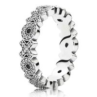 Wholesale Hug Rings - New 925 Sterling Silver Ring Sparkling Hugs and Kisses With Crystal Rings For Women Compatible With Pandora DIY Jewelry HRA0321