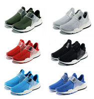 Wholesale low cut toe socks - Fragment x Sock Dart SP Lode Low Cut Shoes For Men&Women Light As Feathers Mesh Vamp Rubber Outsole Sports Outdoor Jogging Sneakers