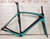 Wholesale Cycling Bracket - 2017 T1000 Carbon Fibre UD XR2 TOP NEW cycling carbon road frame bike bicycle frameset bottom bracket BB386 size 50cm 53cm 55cm 57cm