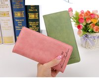 Wholesale Top Quality Ladies Clutch Wallets - 2017 Crazy women long wallet clutch handbag women lady fashion luxury top quality brand designer free shipping new arrival