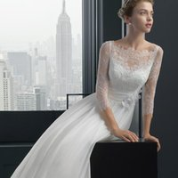 Wholesale Dress Red Lace Sleeves Tall - 2017 Cheap Wedding Dress Lace Skirt Of Tall Waist Wedding Dress Light Cover Button In Floor Length Wedding Dress Custom Size And