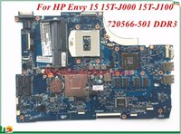 Wholesale motherboard for laptop mini online - High Quality Motheboard For HP Envy T J000 T J100 Laptop Motherboard PGA947 Non Integrated DDR3 Tested